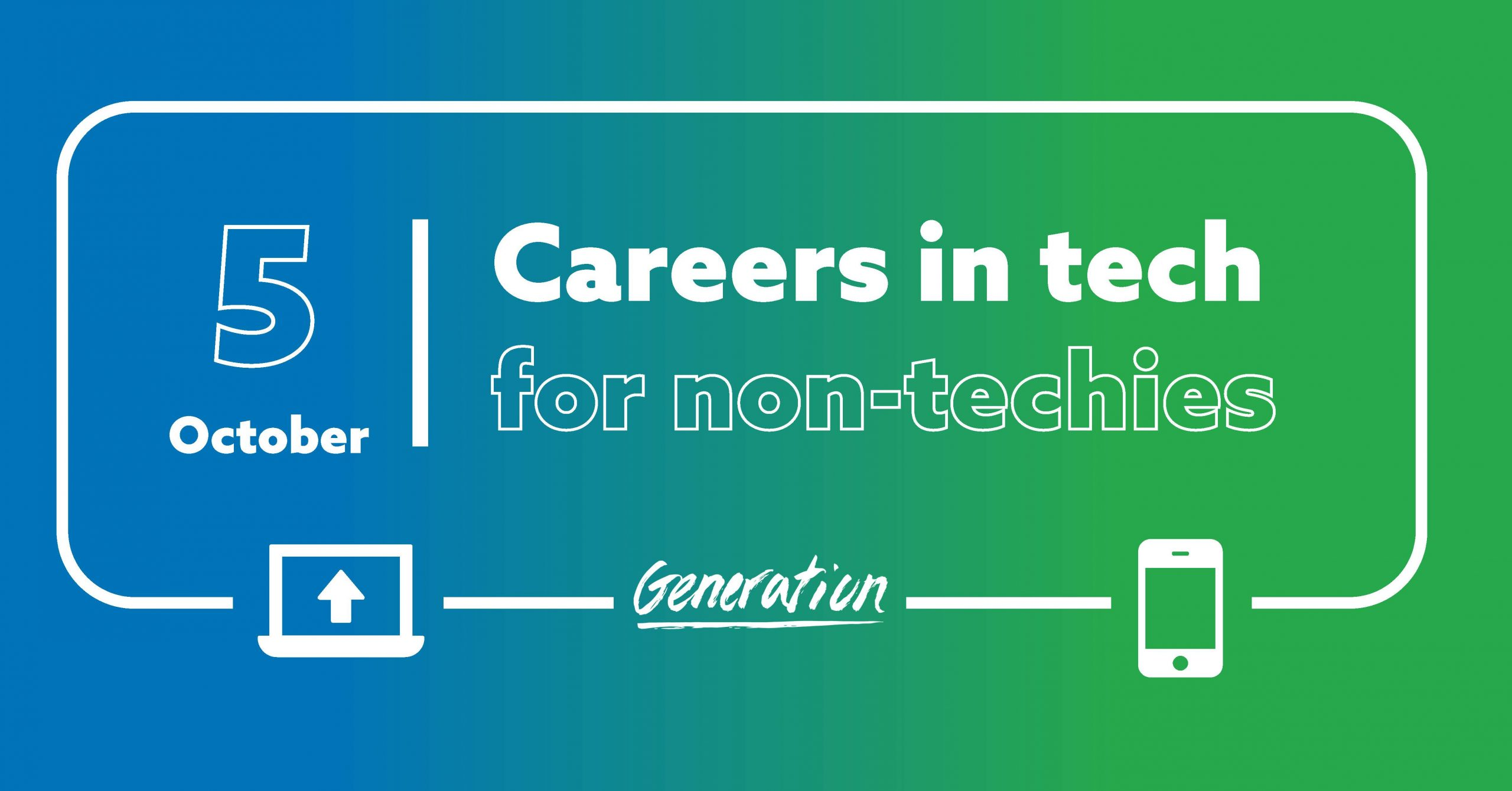 careers in tech for non-techies event image